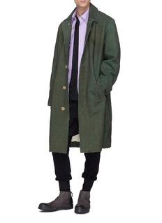 By Walid 'Nadim' surplus cotton twill army coat