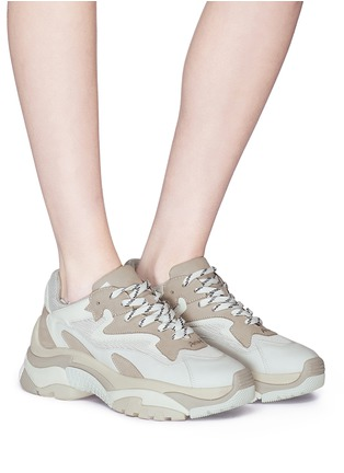 bd1e33bdb430 Figure View - Click To Enlarge - ASH -  Addict  chunky outsole sneakers