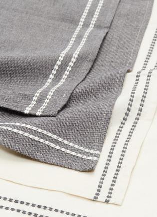 Detail View - Click To Enlarge - LANE CRAWFORD - x Guri I Zi Vida 4-piece napkin set