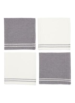 Main View - Click To Enlarge - LANE CRAWFORD - x Guri I Zi Vida 4-piece napkin set