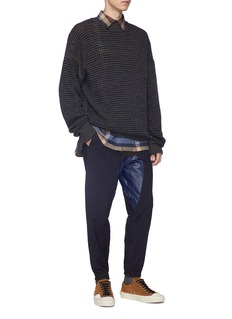 kolor Patchwork jogging pants