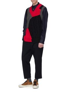 kolor Drawstring cuff sweatpants