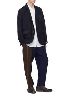 Uma Wang  'Tino' chest pocket stripe shirt