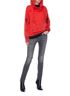NSF 'Lisse' ink splatter hoodie