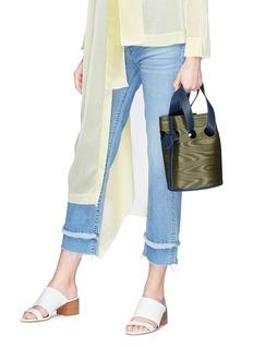 Trademark 'Goodall' moire bucket bag