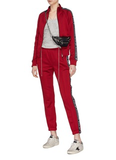 T By Alexander Wang Logo tape outseam track pants