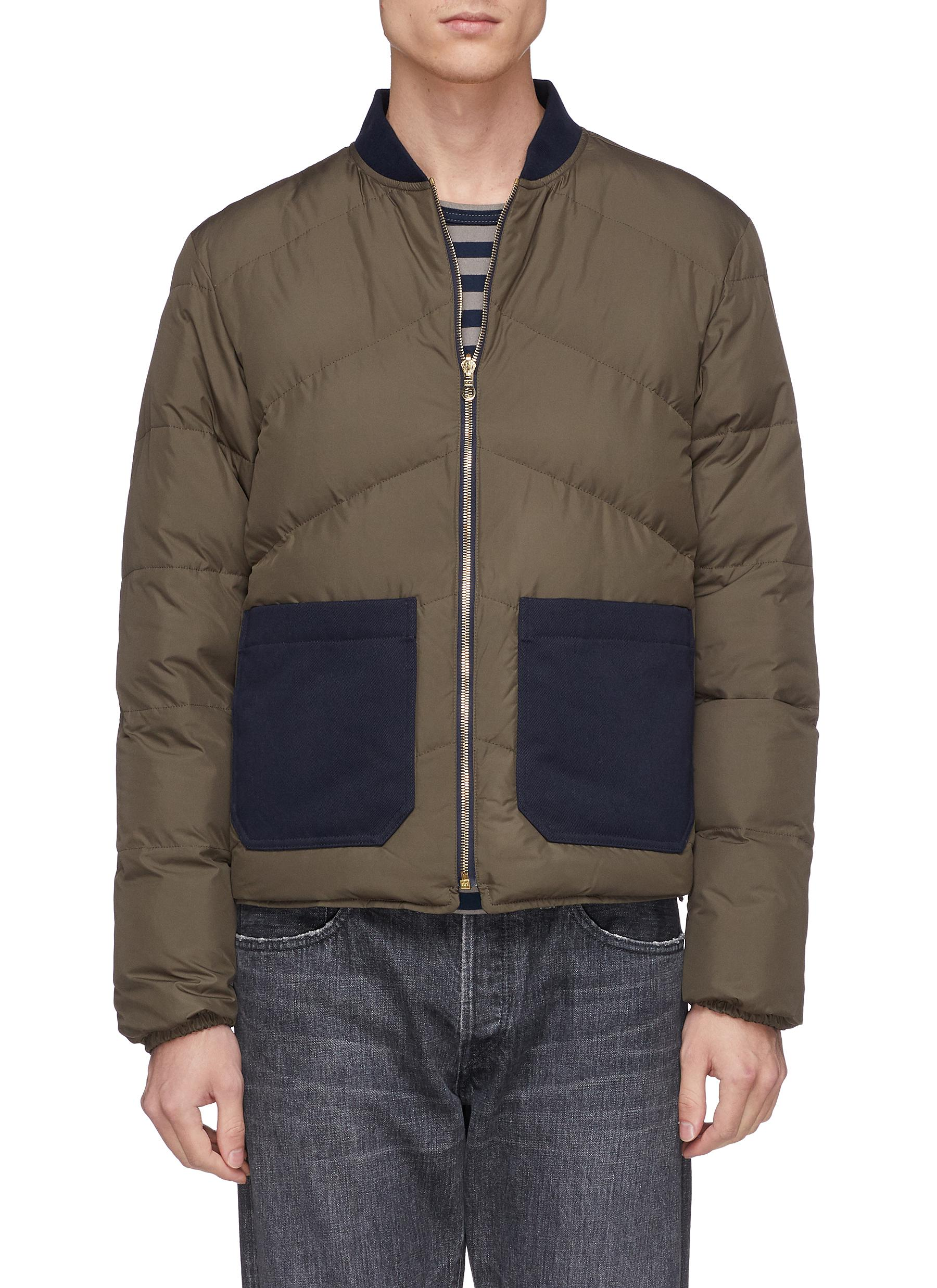 The View Click Down Workers To Enlarge Reversible Club Jacket Bomber Puffer Main I6qAwFq