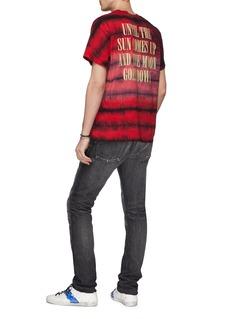 Amiri 'Wild Ones' slogan print tie-dye T-shirt