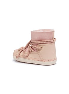 INUIKII 'Classic' shearling kids sneaker boots