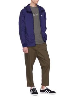 adidas x C.P. Company  Detachable goggle hood track jacket