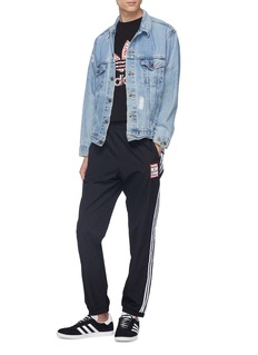 adidas x have a good time Reversible 3-Stripes outseam logo embroidered track pants
