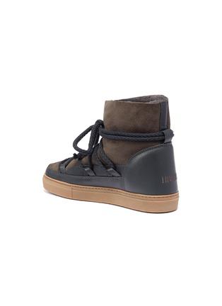 Detail View - Click To Enlarge - INUIKII - 'Classic' lambskin shearling sneaker boots