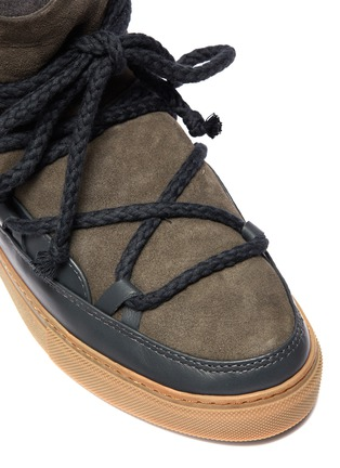 Detail View - Click To Enlarge - INUIKII - 'Classic' lambskin shearling sneaker boots