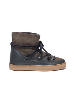 Main View - Click To Enlarge - INUIKII - 'Classic' lambskin shearling sneaker boots