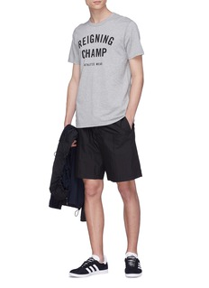 Reigning Champ 'Gym' logo print T-shirt