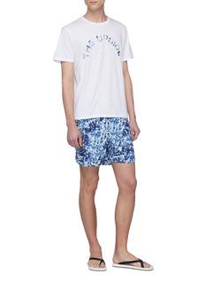 The Upside Tie-dye effect logo print T-shirt