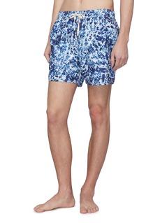The Upside Tie-dye effect swim shorts