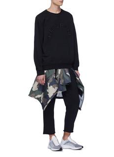 The Upside 'OM' raw cuff jogging pants