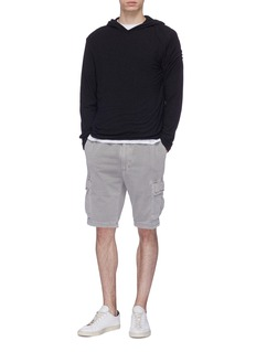 James Perse Double layered hoodie