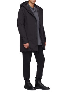 ATTACHMENT Hooded down parka