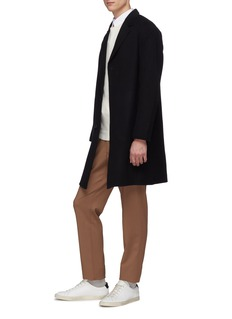 Theory 'Suffolk' double faced cashmere melton coat