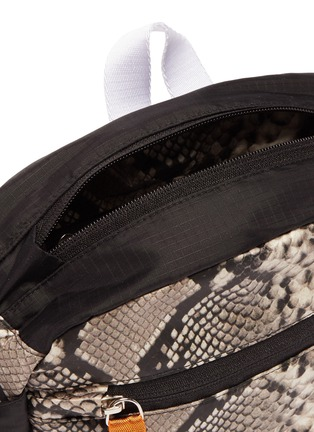 Detail View - Click To Enlarge - Heron Preston - Python print bum bag