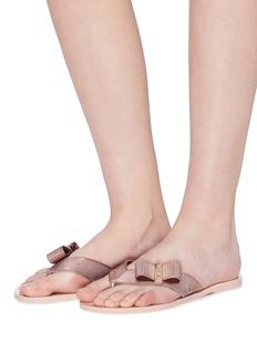 Melissa x Jason Wu 'Girl' PVC flip flops