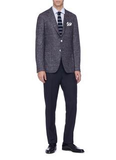 ISAIA 'Cortina' mélange silk blend blazer
