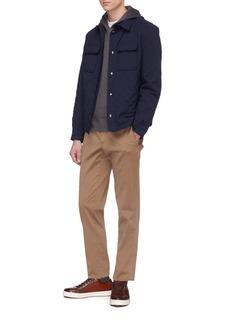 ISAIA Cashmere-silk hoodie