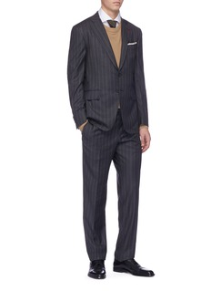 ISAIA 'Gregory' pinstripe wool suit