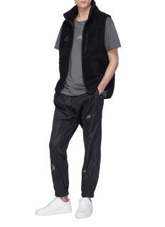 A-COLD-WALL* Logo print zip cuff jogging pants