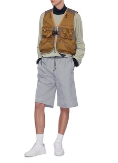 A-COLD-WALL* Logo print nylon shorts