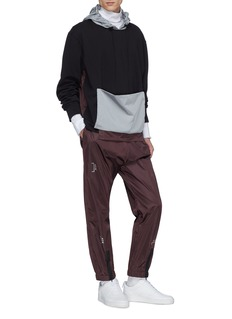 A-COLD-WALL* Detachable zip pocket patchwork hoodie