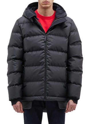 Main View - Click To Enlarge - Templa - '4L' double hood down puffer jacket