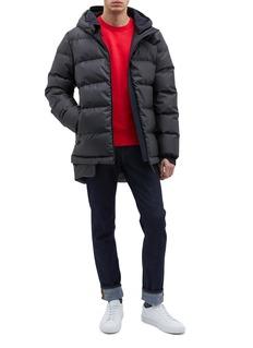 Templa '4L' double hood down puffer jacket