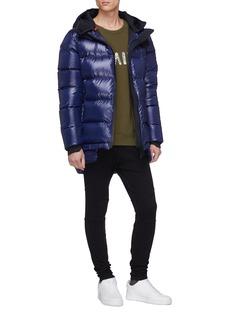 Templa Hooded waterproof down puffer jacket
