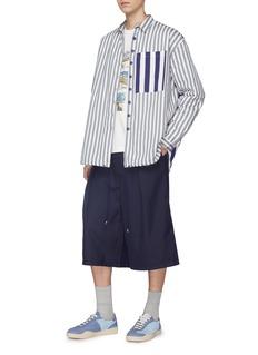 Sunnei Pleated gabardine cholo shorts