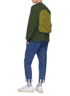 Sunnei Oversized sweatshirt with backpack