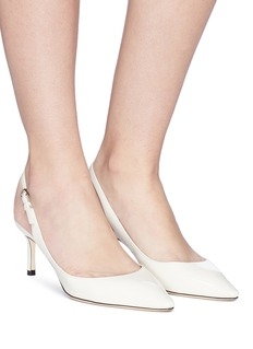 Jimmy Choo 'Erin 60' patent leather slingback pumps