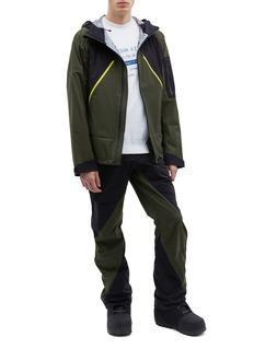 Aztech Mountain 'Hayden' hooded colourblock Dermizax EV ski jacket
