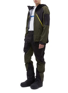 Aztech Mountain 'Hayden' colourblock Dermizax EV ski pants