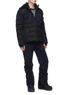 AZTECH MOUNTAIN  'Nuke' patchwork Toray Dermizax EV down puffer jacket