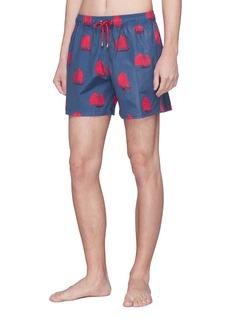 Māzŭ 'Junk Twilight' graphic print swim shorts