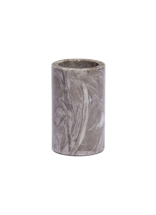 Main View - Click To Enlarge - Lane Crawford - Marble toothbrush holder –Grey