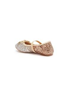 Sam Edelman 'Felicia' ombré coarse glitter toddler ballet flats