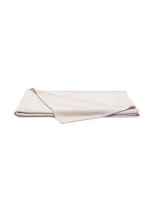 Main View - Click To Enlarge - LANE CRAWFORD - Cashmere throw – Jute Beige