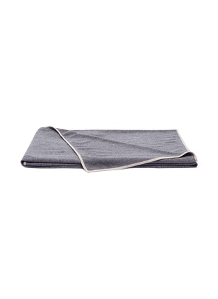 Main View - Click To Enlarge - LANE CRAWFORD - Cashmere throw – Thunder Grey