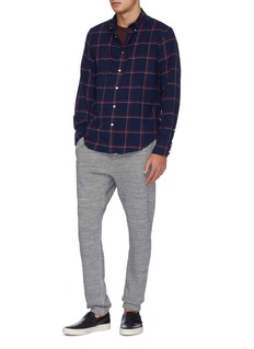 rag & bone 'Tomlin' windowpane check twill shirt