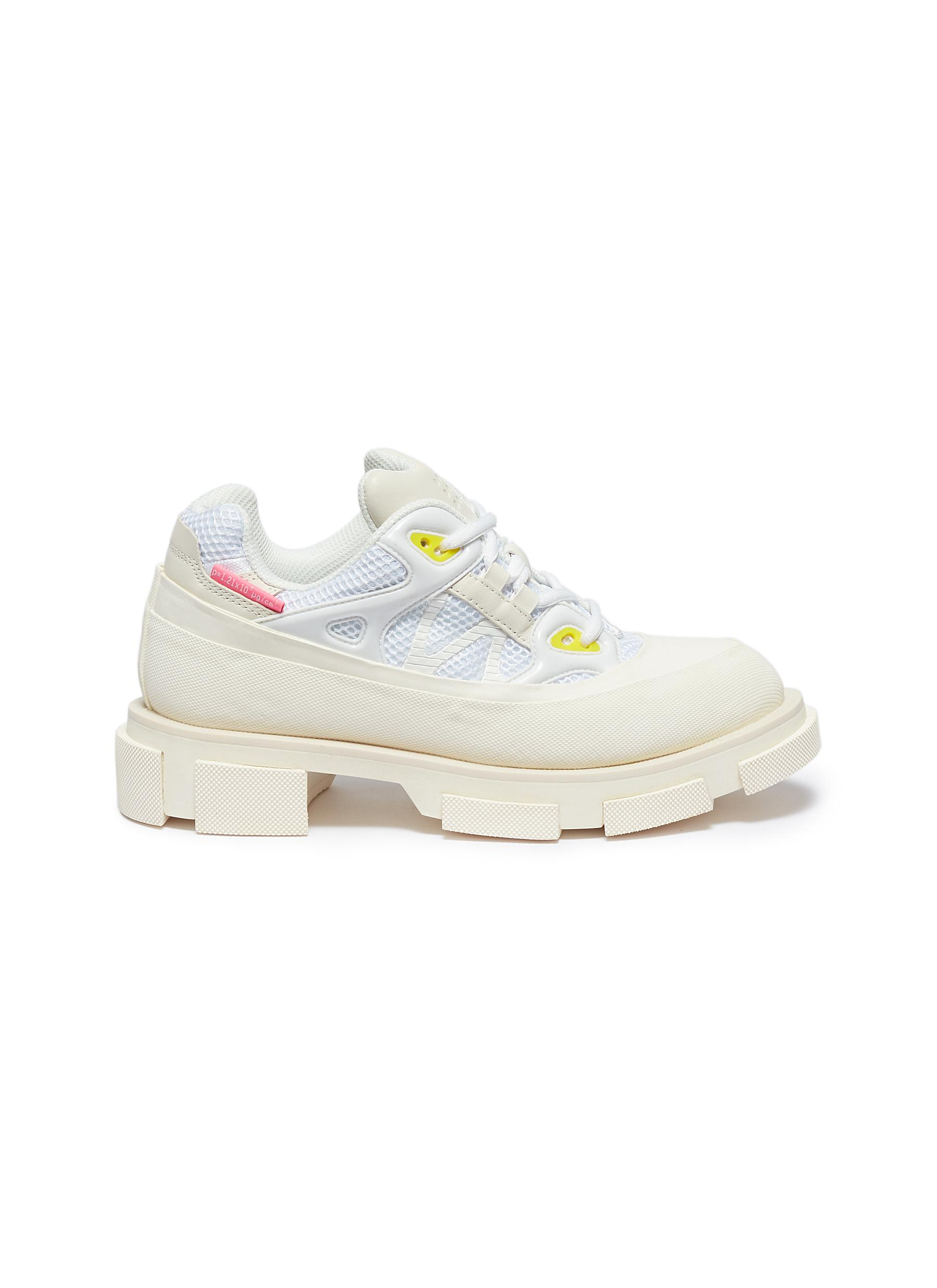 Gao Runner web panelled sneakers by both