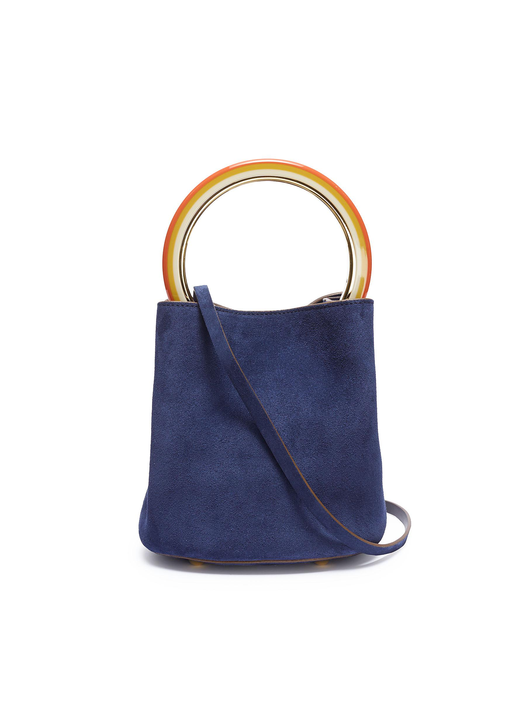 78d0b51be238 Main view click to enlarge marni pannier small ring handle suede jpg  1800x2475 Marni suede bag